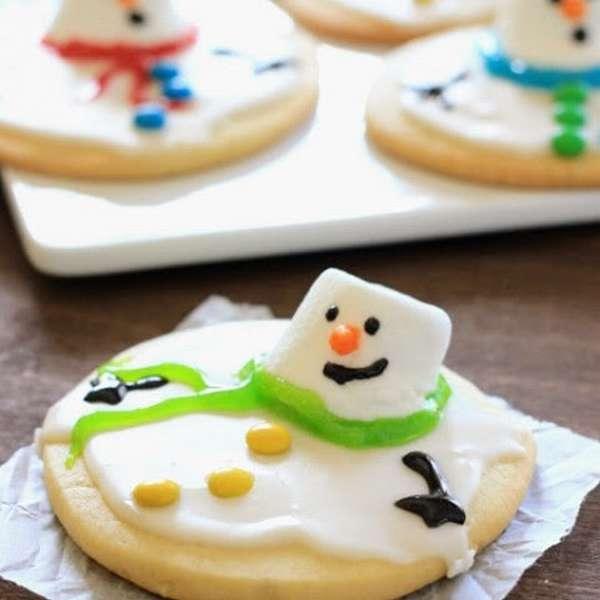 печенье тающий снеговик2