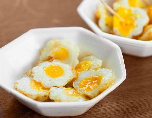 Жареные перепелиные яйца являются очень вкусными, поэтому они особенно нравятся беременным