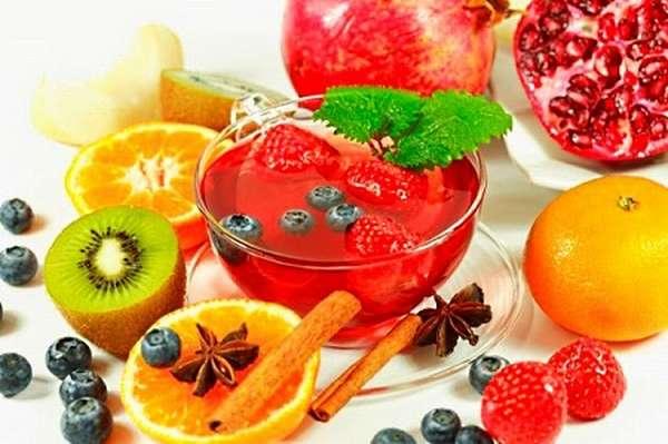 фруктовый чай