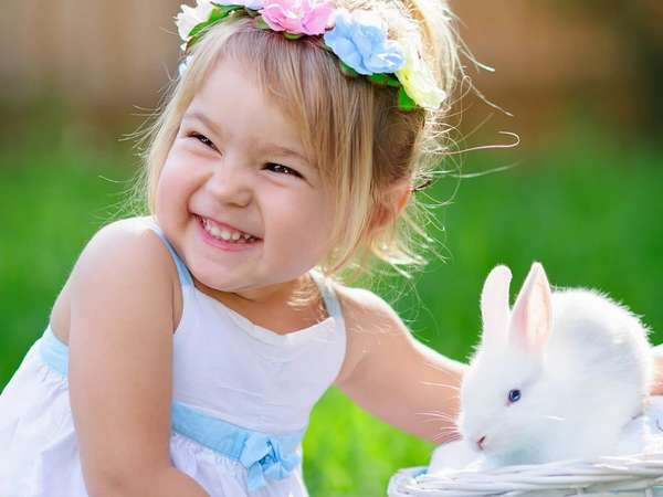 Часто ребенку для счастья необходимо домашнее животное