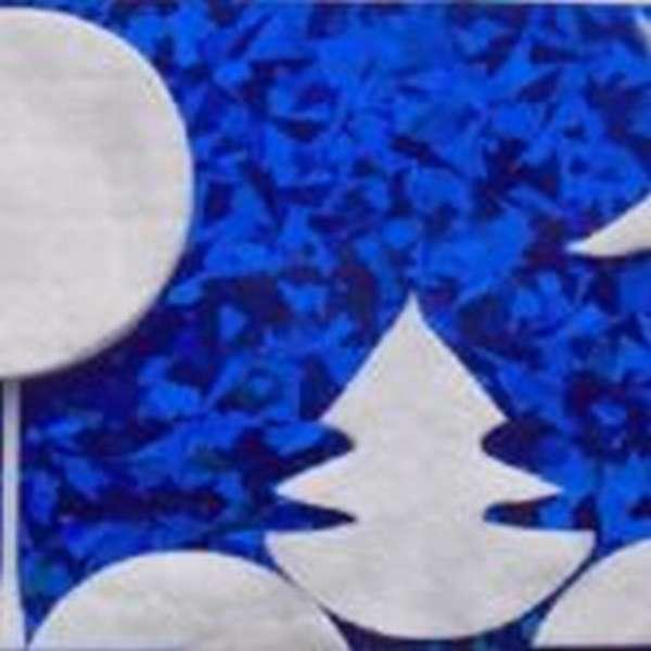 Зимний пейзаж с ёлкой