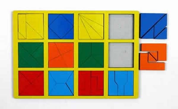 Сложи квадрат Никитина