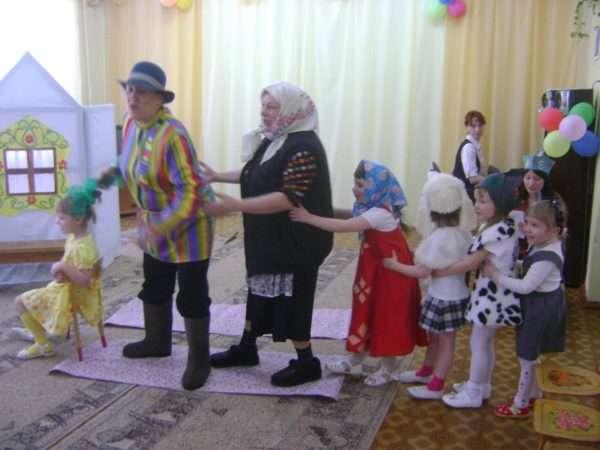 Детский спектакль с участием взрослых