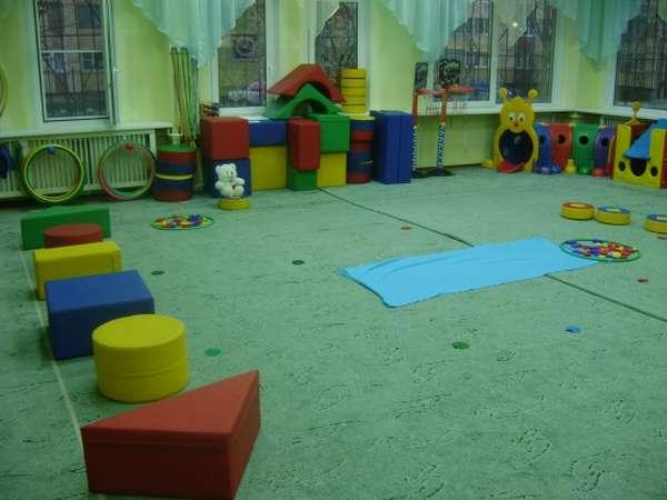 Крупные модули в виде блоков Дьенеша как атрибуты для физкультурного занятия