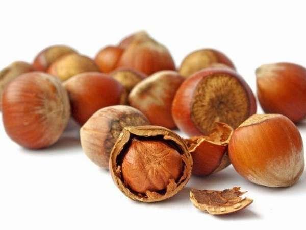 Фундук благоприятно влияет на нервную систему плода