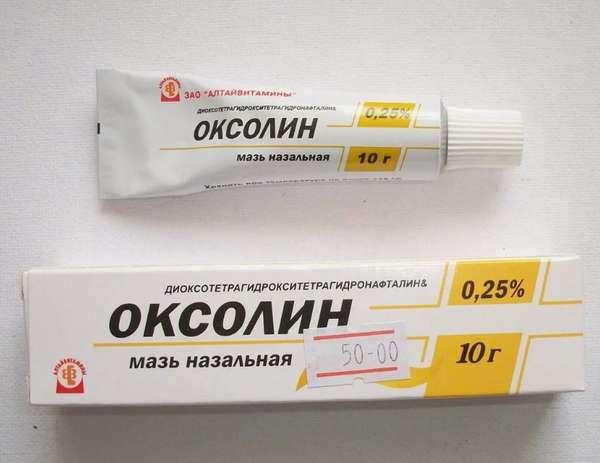 Оксолиновая мазь является эффективным средством благодаря своему составу