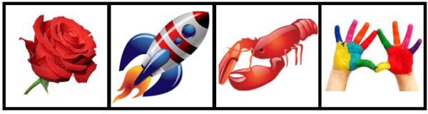 Изображения предметов с начальным звуком «р»