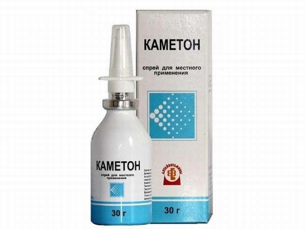 Спрей Каметонприменяют для лечения острых заболеваний полости рта, носа и глотки