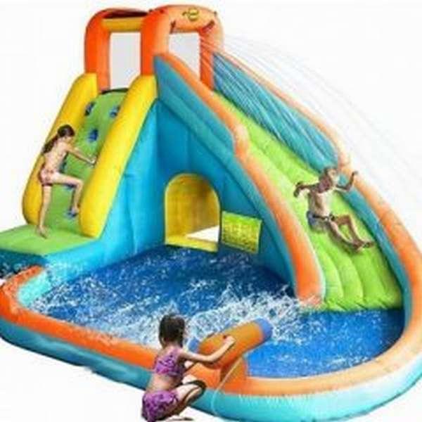 батут бассейн