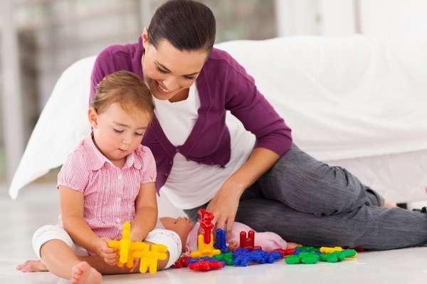 Развивающие занятия с двухлетним ребёнком