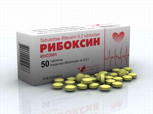 Рибоксин стимулирует функцию миокарда