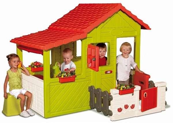 детские пластиковые домики