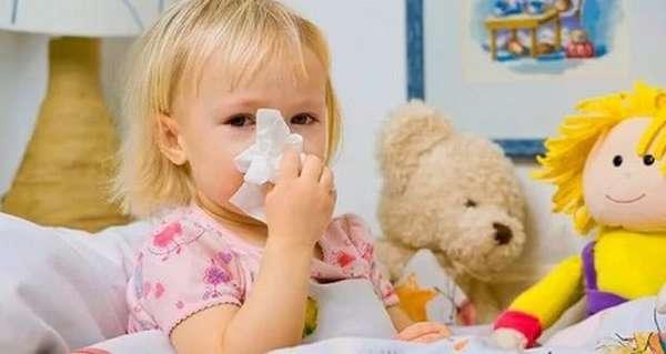 как лечить сопли у ребенка