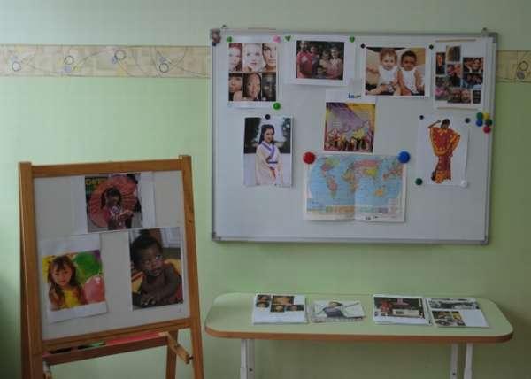 Карта и фотографии для занятия по толерантности