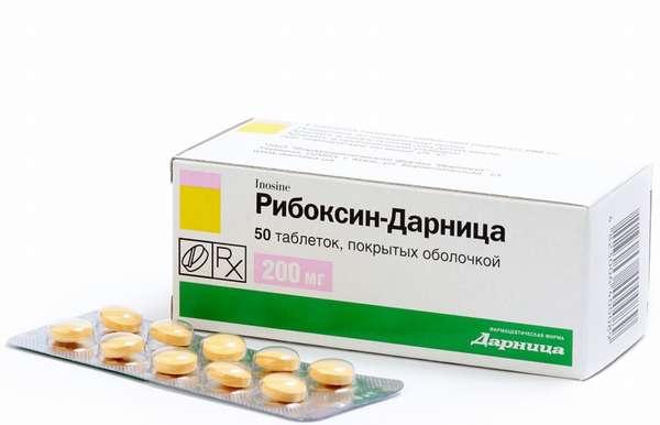 Рибоксин в таблетках принимают три раза в день до еды