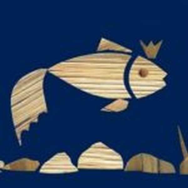 Рыбка из соломы