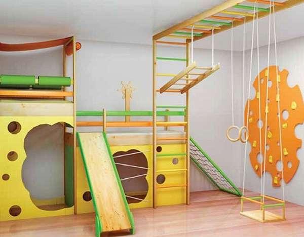 детские игровые комплексы с домиком