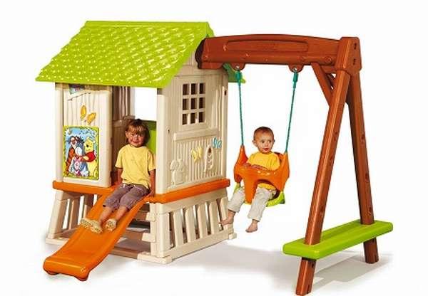 детские игровые модульные домики