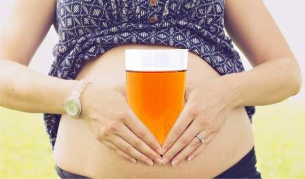 Если вы не можете удержаться от употребления пива при беременности, то об этой проблеме нужно сообщить врачу