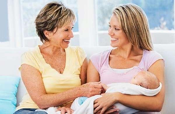 Роды с мамой