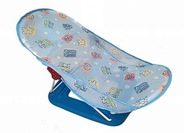 шезлонг для купания новорожденных