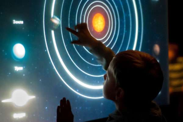 Интерактивная игра «Космическое путешествие»