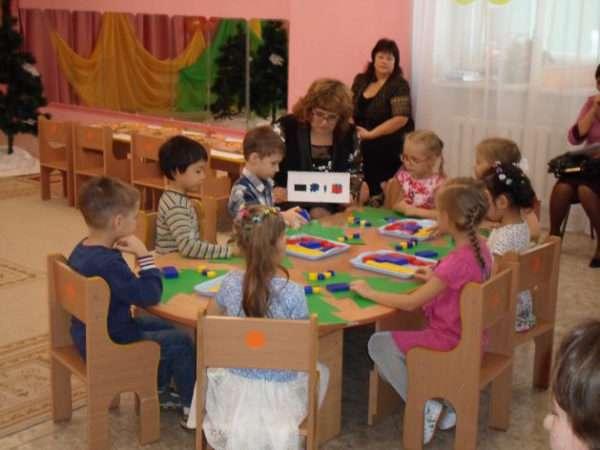 Работа педагога с детьми старшей группы