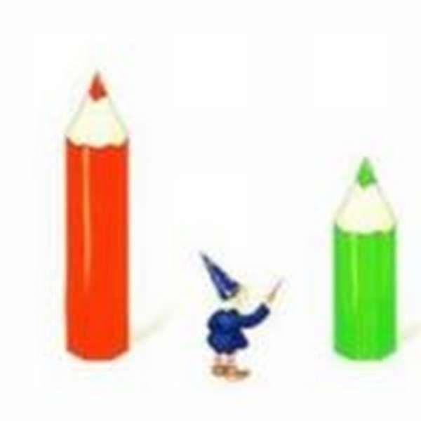 Длинный и короткий карандаши