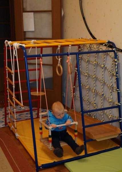 домашние спортивные комплексы для малышей
