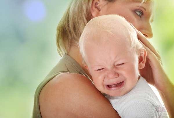 Плач из-за боли