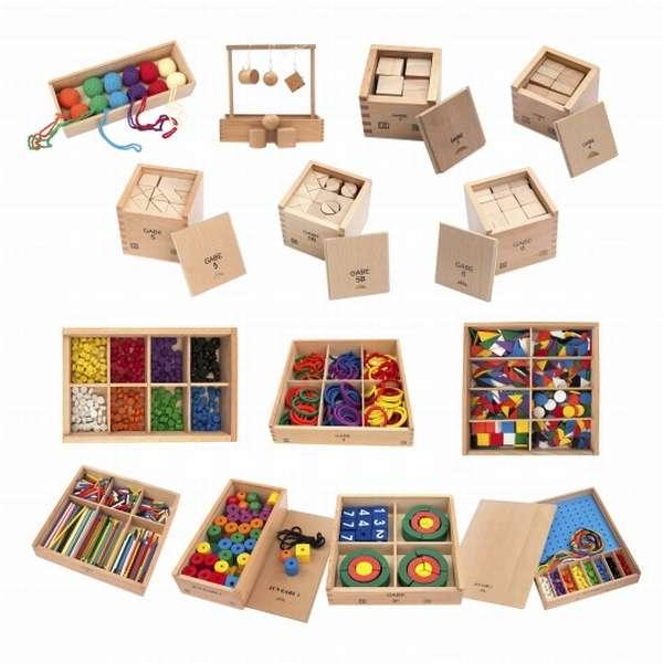 Специально разработанные комплекты дидактических материалов