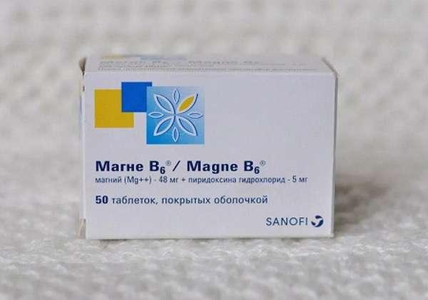 Магний B6 нужно употреблять после назначения врача