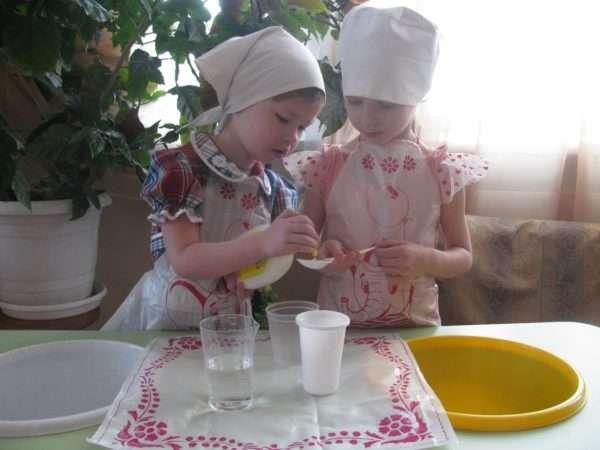 Экспериментирование с жидкостями