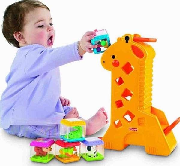 Игрушки для ребенка 2 лет
