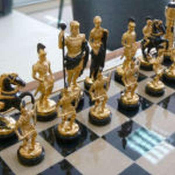 Необычные фигуры для игры в шахматы