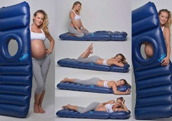 матрас для беременных с дыркой для живота
