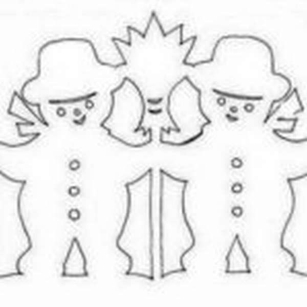 Пара снеговиков