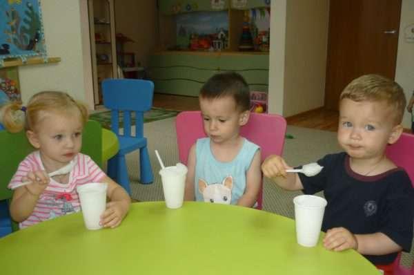 Кислородный коктейль в детском саду
