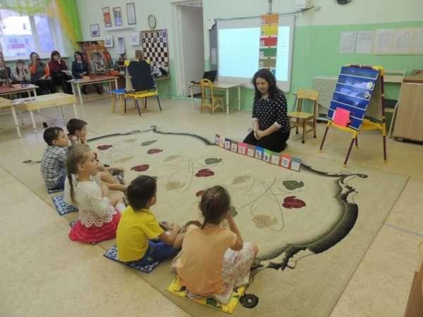 Данетка (дети играют с воспитателем)