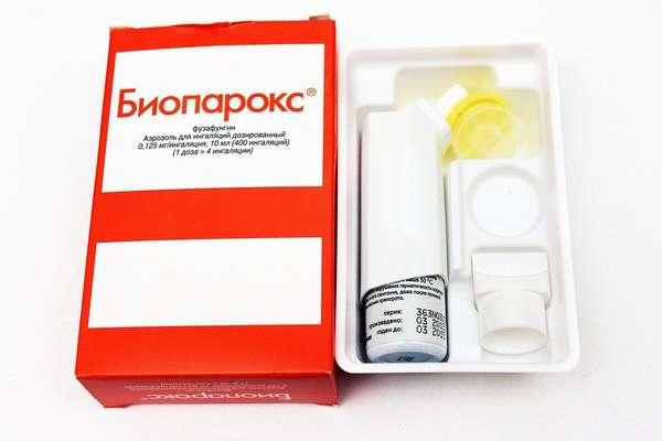Биопарокс может давать побочные эффекты, включая аллергические реакции, рвоту, кашель и даже отек Квинке