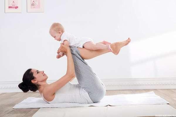 Фитнес для молодых мам