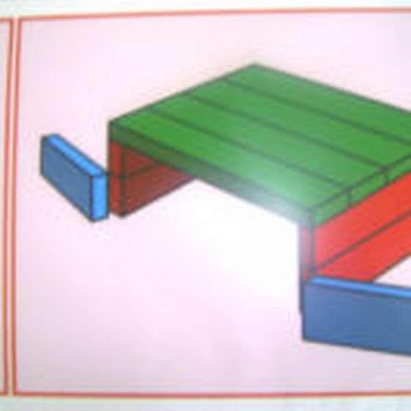 Схема гаража с воротами