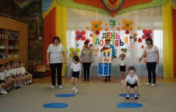 Празднование Дня Здоровья в детском саду