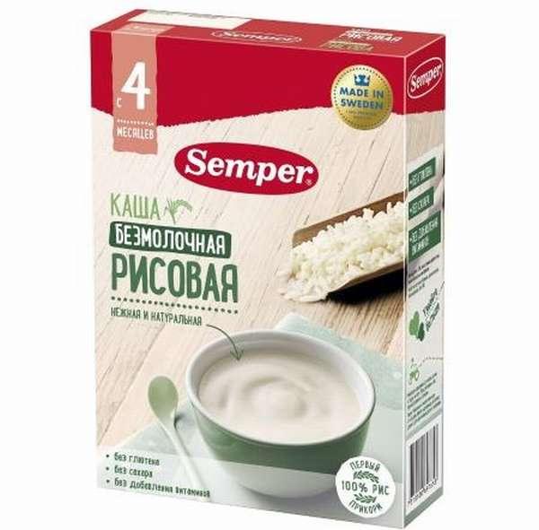 Рисовая каша Семпер