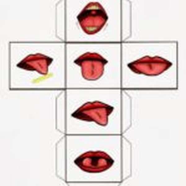 Схема второго кубика