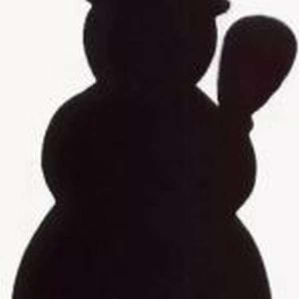 Контур снеговика