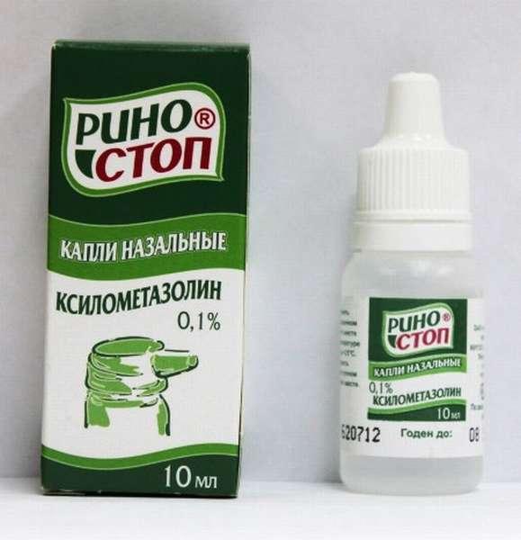 Капли Риностоп являются действенным препаратом, который помогает справиться с заложенностью носа