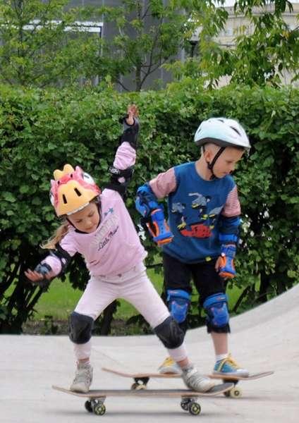 скейт для мальчика и девочки