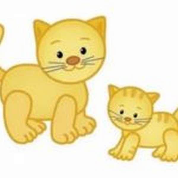Кот и котёнок