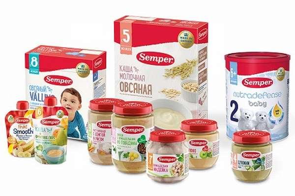 Детское питание семпер
